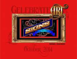 Celebrate Art Letterhead Meet logo