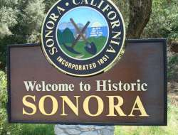 Sonora City sign